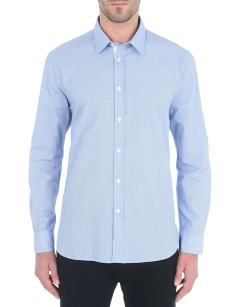 Men's shirt in fil coupé