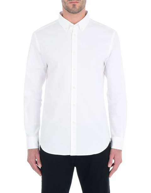 Button-down men's shirt