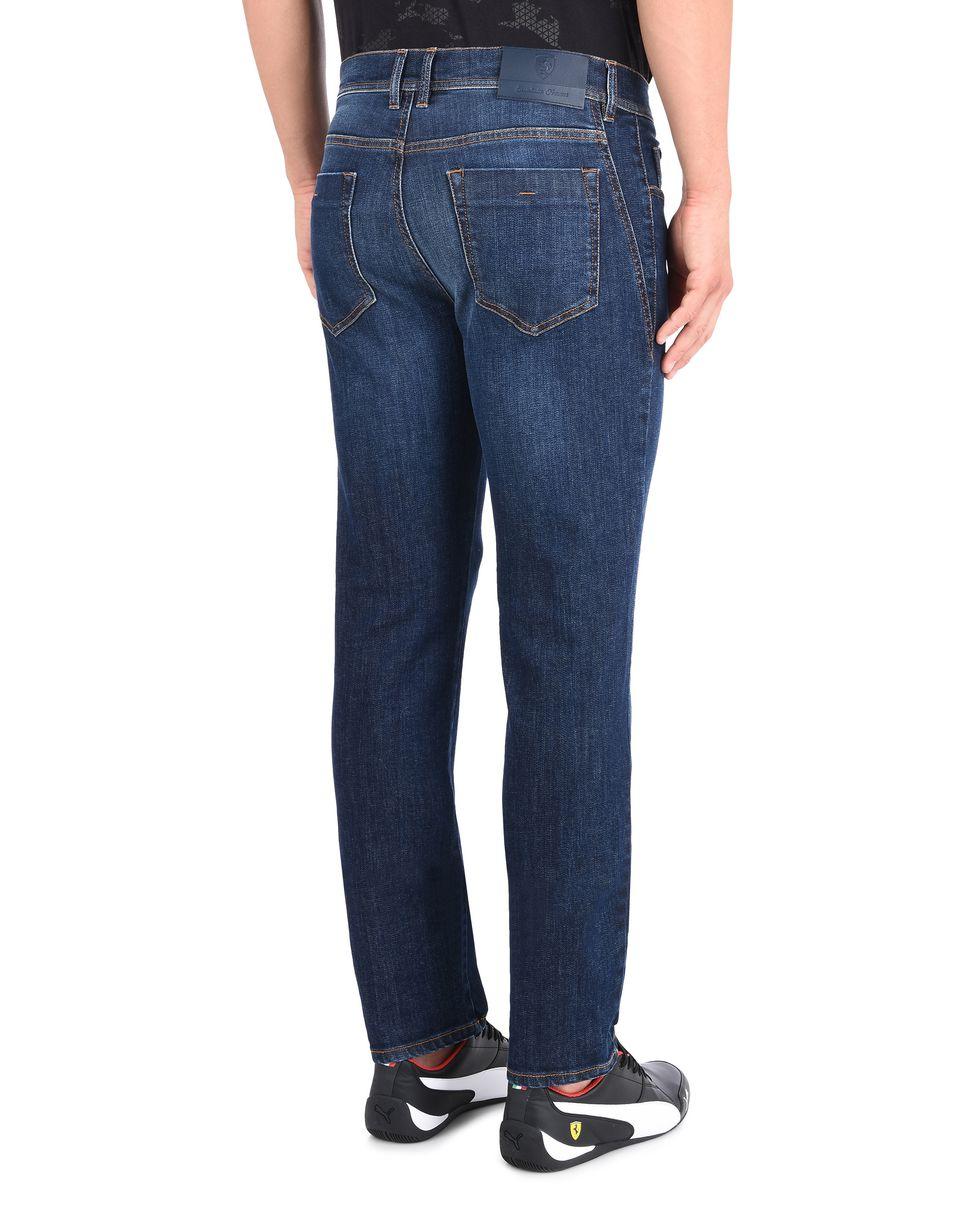 Scuderia Ferrari Online Store - Slim-Fit Herren-Jeans - 5-Pocket-Hosen