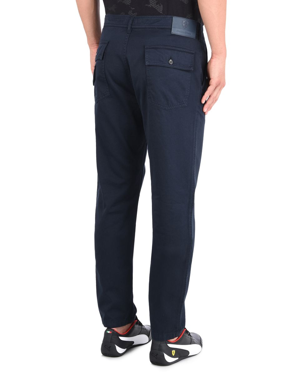 Scuderia Ferrari Online Store - Men's trousers with rear pockets - Chinos