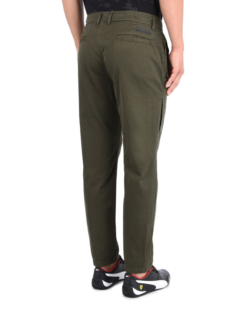 Scuderia Ferrari Online Store - Men's trousers with maxi pockets - Cargo Trousers