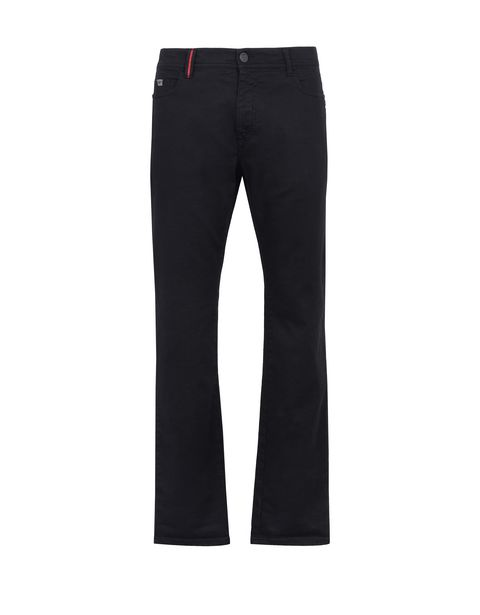 Scuderia Ferrari Online Store - Men's slim-fit jeans - 5-pocket-pants