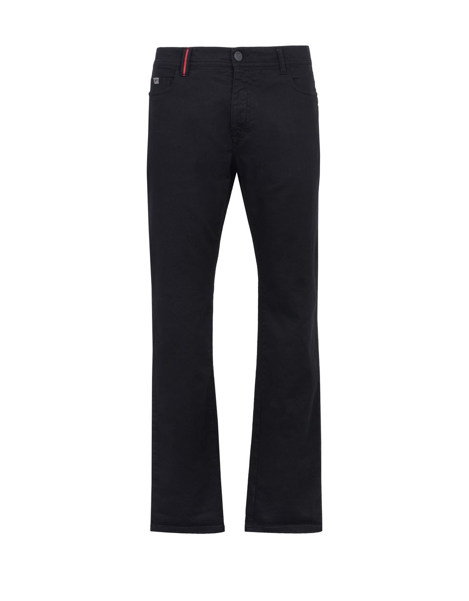 Scuderia Ferrari Online Store - Slim-fit men's jeans - 5-pocket trousers