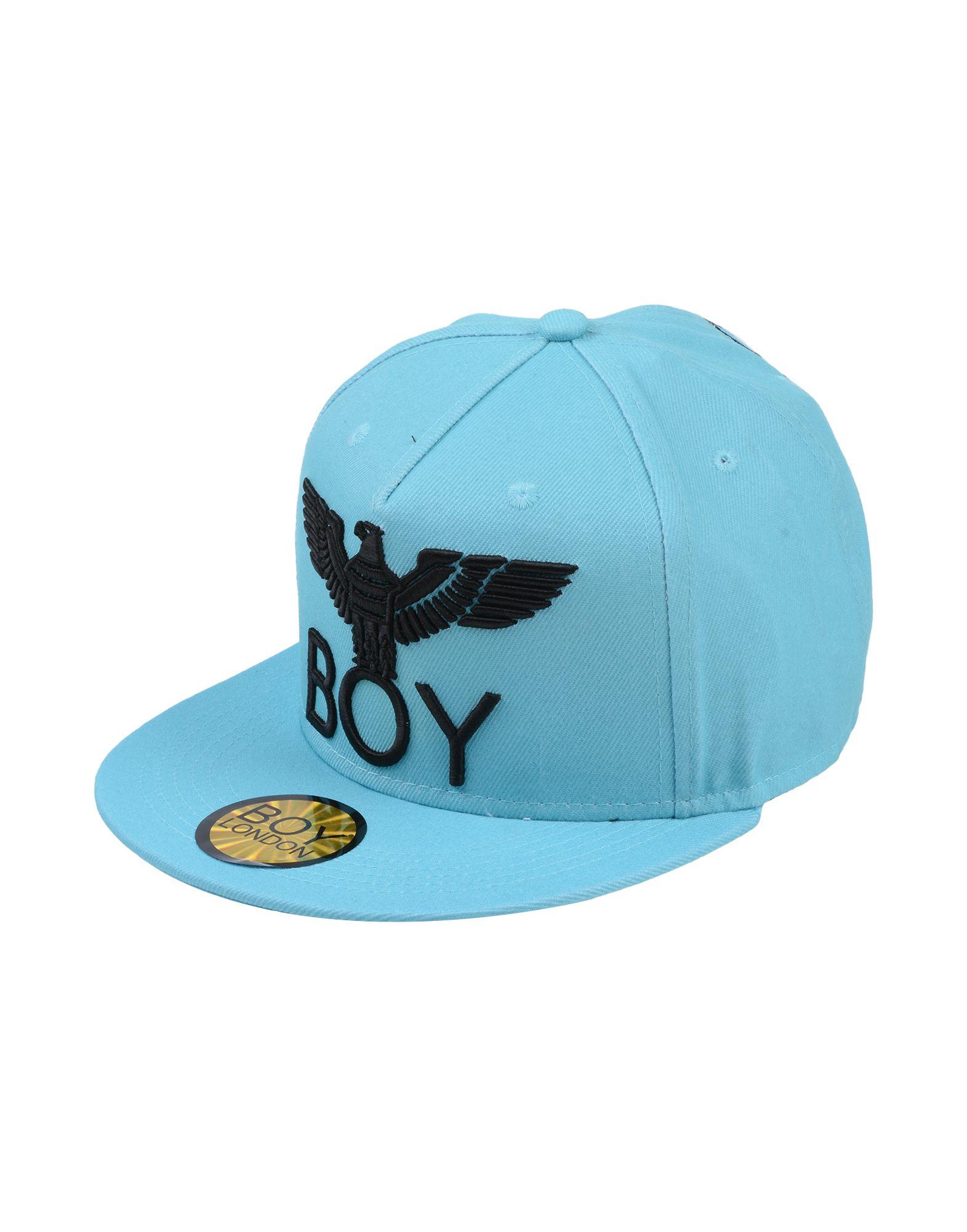《送料無料》BOY LONDON メンズ 帽子 スカイブルー one size ポリエステル 100%