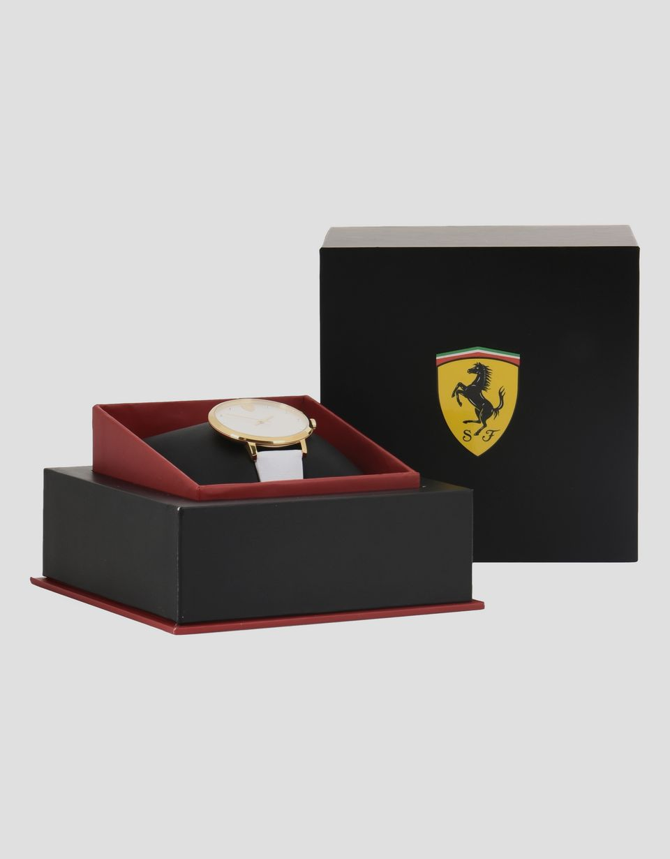 Scuderia Ferrari Online Store - Ultraleggero women's watch with white dial and strap - Quartz Watches