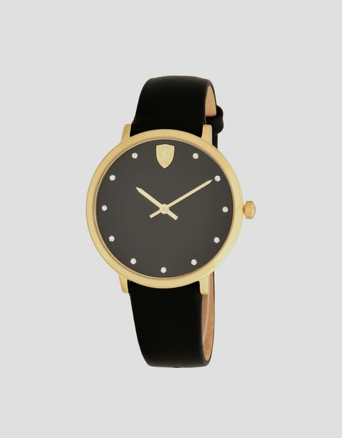 Ultraleggero women's watch with black dial