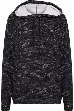 KORAL Mélange jersey hoodie