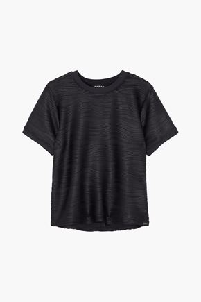 KORAL Redeem ribbed stretch-jersey T-shirt