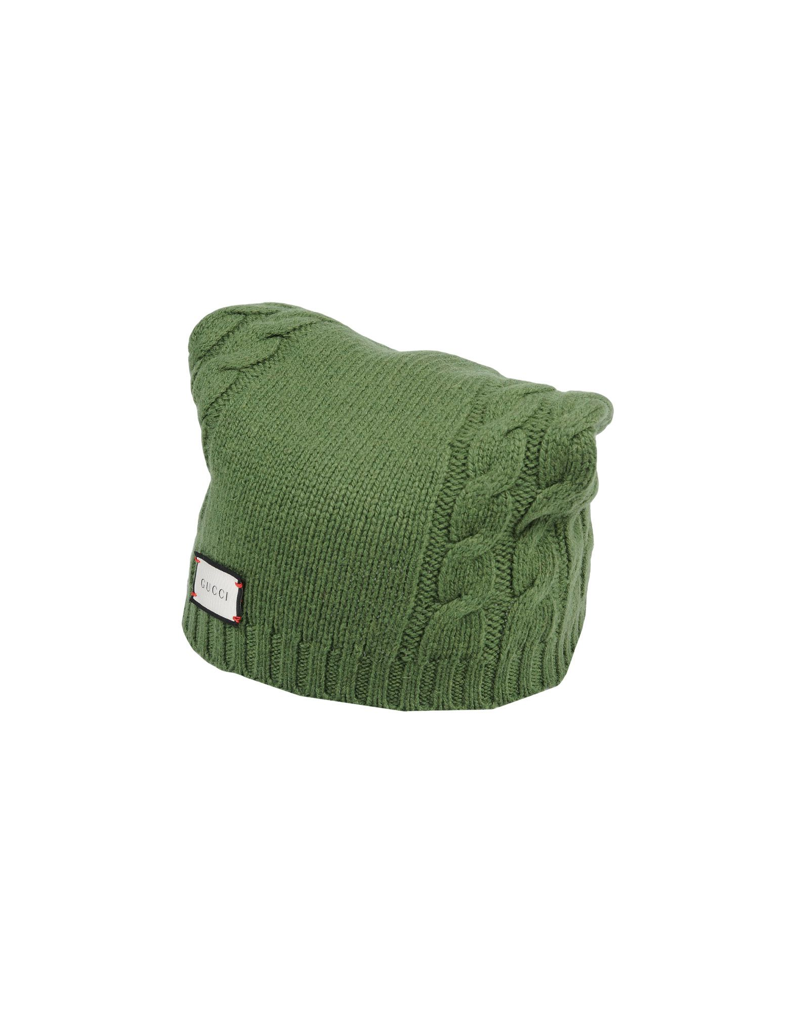 Gucci Hats In Military Green  dbeea864be6