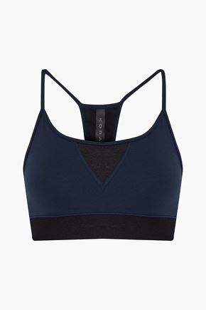 KORAL Trifecta Versatility paneled stretch sports bra