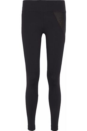 KORAL Post metallic-paneled stretch-jersey leggings