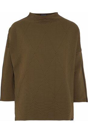 KORAL Foil matelassé sweatshirt