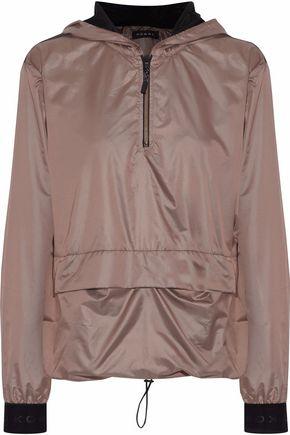 KORAL Ground Anorak mesh-paneled shell hooded jacket