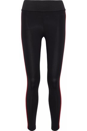 KORAL Tone striped stretch leggings