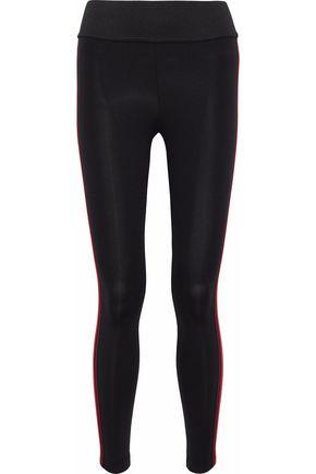 KORAL Tone striped stretch leggings