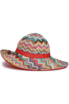 MISSONI MARE Printed knitted sunhat