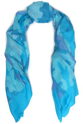 VALENTINO Printed cotton scarf