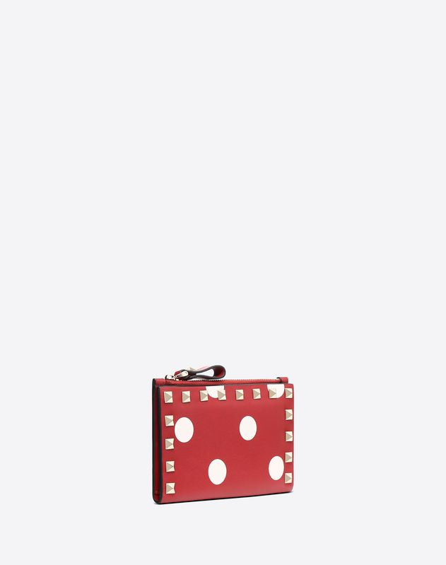 Polka Dot Pocket Wallet