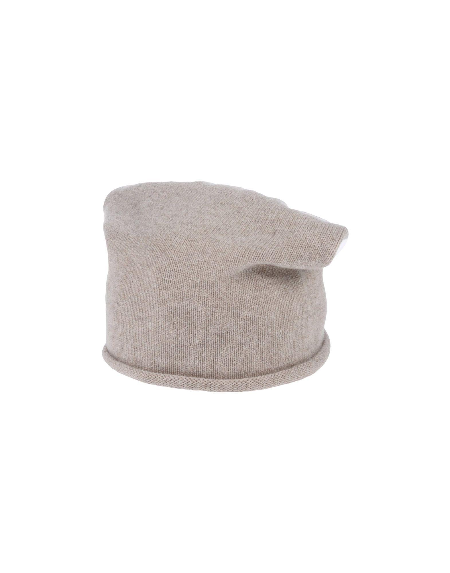 《送料無料》MOSAIQUE レディース 帽子 ベージュ one size カシミヤ 100%