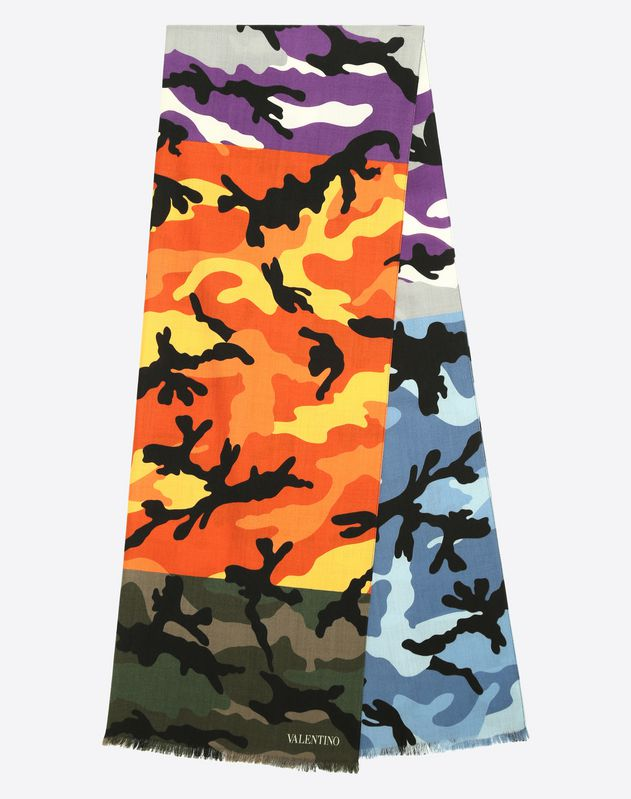70x200 cm Camouflage scarf