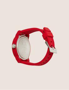 ARMANI EXCHANGE POP ART RED SILICONE STRAP WATCH Watch Man e