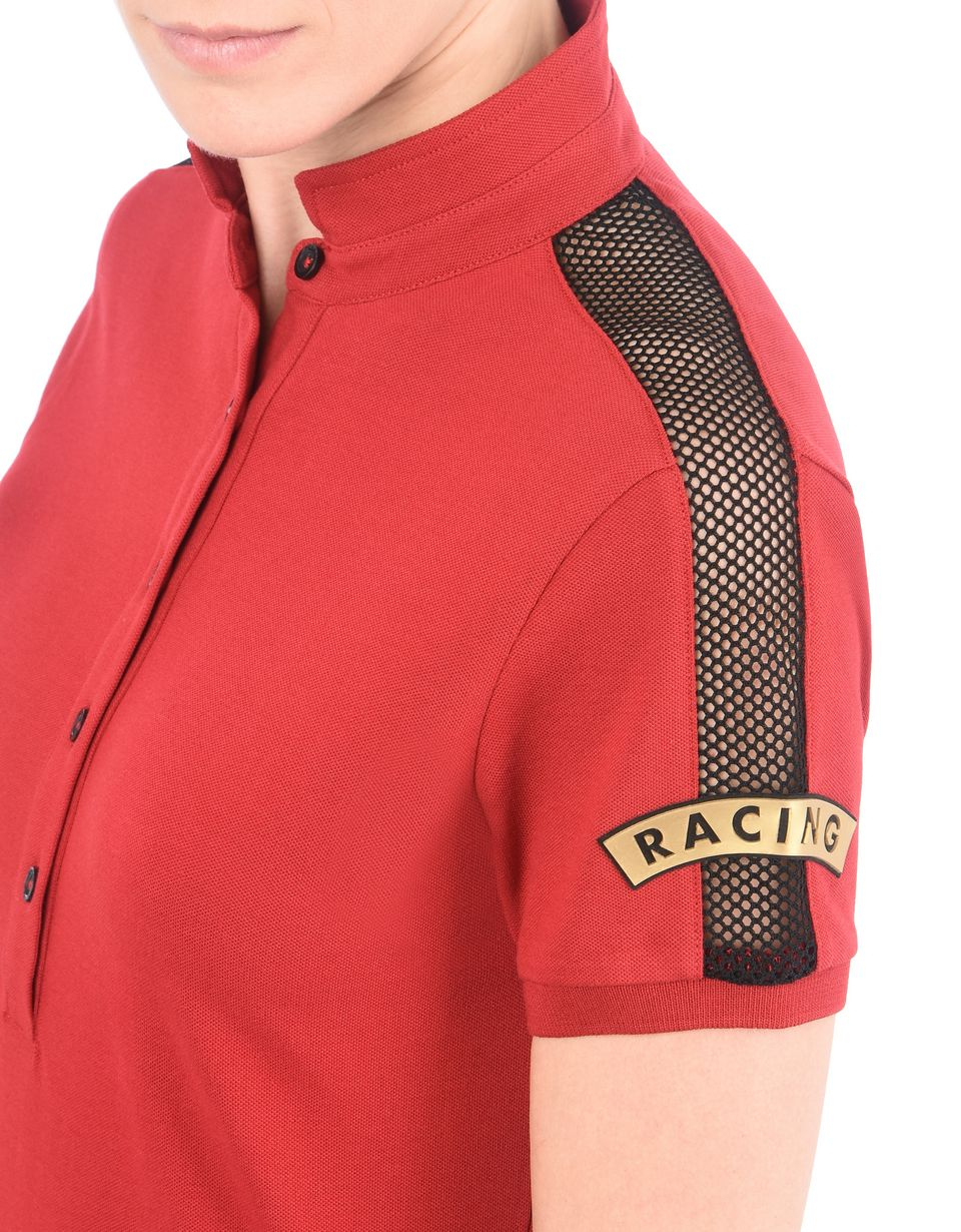 Scuderia Ferrari Online Store - Paddock collection women's polo shirt -
