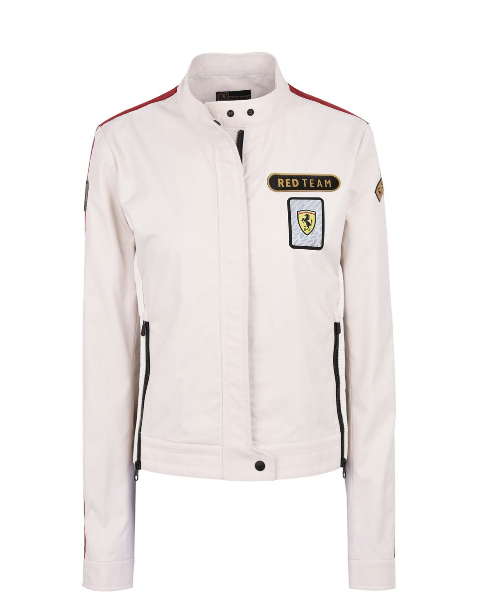 Scuderia Ferrari Online Store - Paddock collection women's bomber jacket - Bombers & Track Jackets