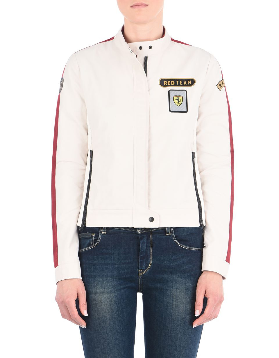 Scuderia Ferrari Online Store - Paddock collection women's bomber jacket -
