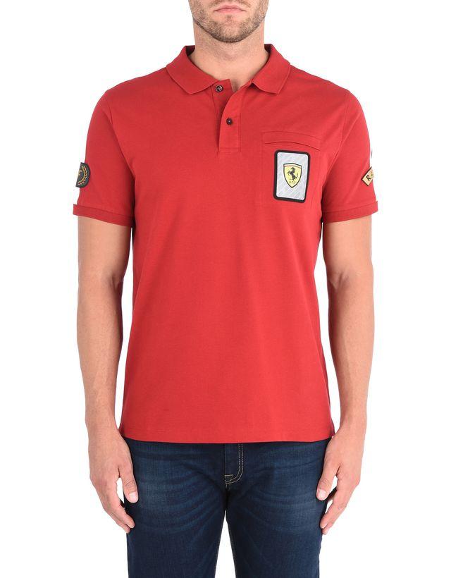 sleeves ferrari s shirts anniversary puma short collar ebay mens polo itm cotton