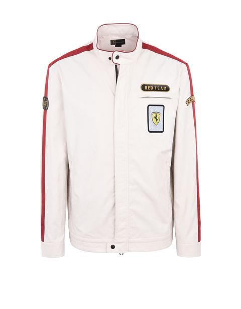 Scuderia Ferrari Online Store - Paddock collection men's bomber jacket -
