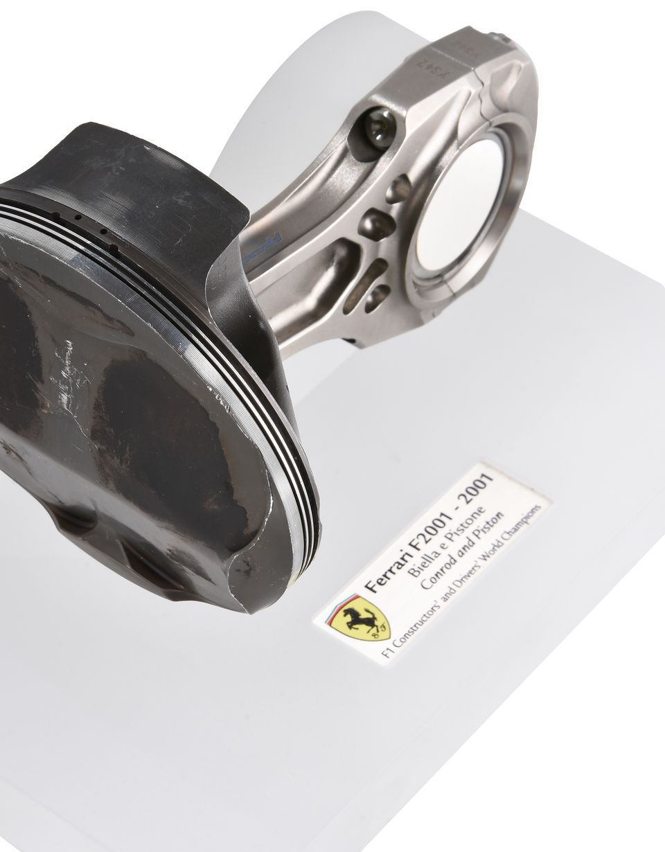 Scuderia Ferrari Online Store - F2001 piston and connecting rod - Memorabilia F1