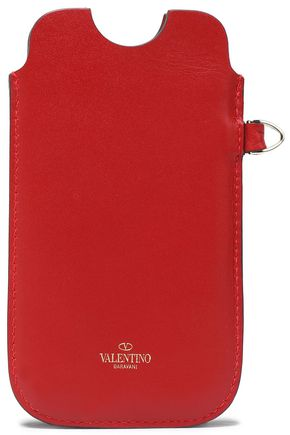 VALENTINO Leather iPhone 5/5S/SE case