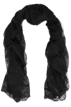 VALENTINO Corded lace scarf