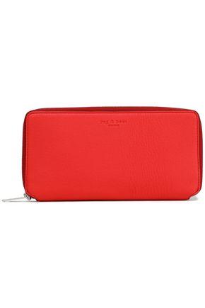 RAG & BONE Textured-leather wallet