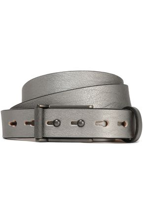 RAG & BONE Metallic leather belt