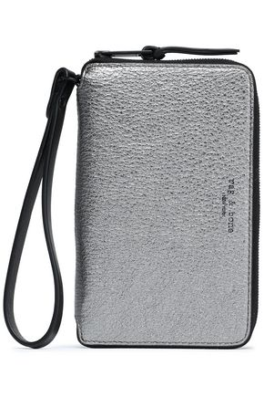 RAG & BONE Metallic leather phone case