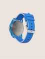 ARMANI EXCHANGE BLUE SILICONE STRAP WATCH Fashion Watch Woman e