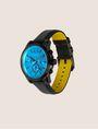 ARMANI EXCHANGE AQUA FACE CHRONO WATCH WITH LEATHER STRAP Fashion Watch [*** pickupInStoreShippingNotGuaranteed_info ***] d