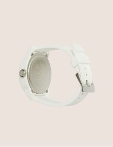 ARMANI EXCHANGE POP ART WHITE SILICONE STRAP WATCH Fashion Watch [*** pickupInStoreShippingNotGuaranteed_info ***] e