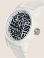 ARMANI EXCHANGE POP ART WHITE SILICONE STRAP WATCH Fashion Watch [*** pickupInStoreShippingNotGuaranteed_info ***] r