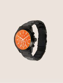 ARMANI EXCHANGE CRONOGRAFO IN ACCIAIO A MAGLIE CON QUADRANTE A CONTRASTO Watch Man d