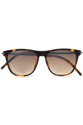 MARC JACOBS D-frame tortoiseshell acetate sunglasses