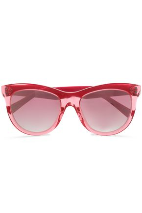MARC JACOBS D-frame acrylic sunglasses