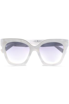 MARC JACOBS D-frame printed acrylic sunglasses