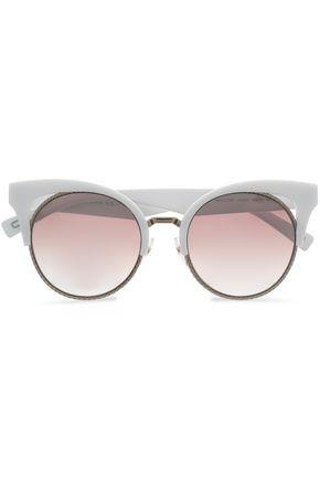 MARC JACOBS Round-frame acetate sunglasses