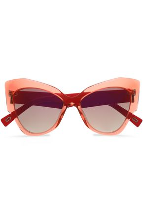 MARC JACOBS Cat-eye acrylic sunglasses