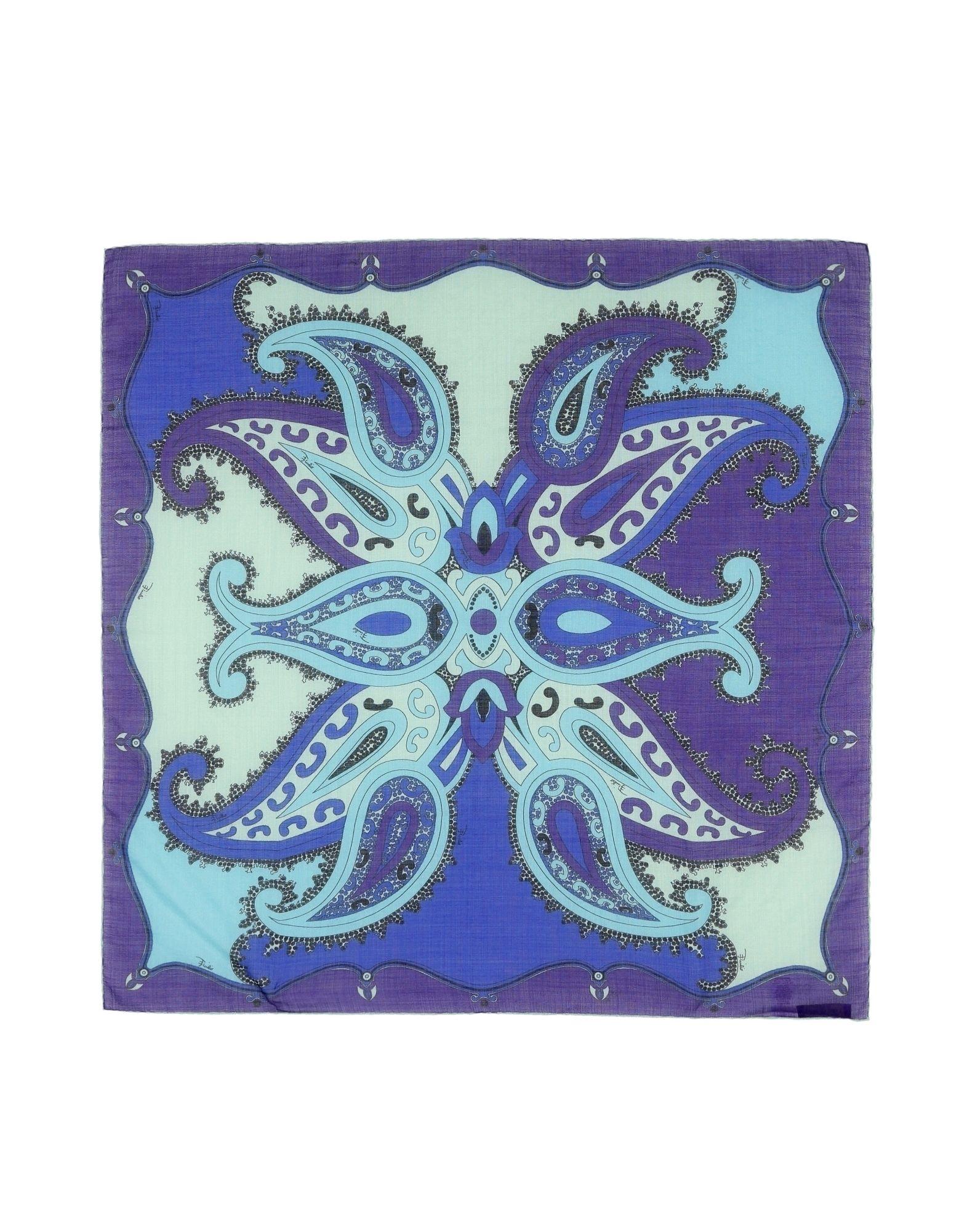 EMILIO PUCCI Платок emilio pucci модный шелковый головной платок emilio pucci 64315