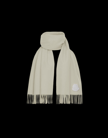 SCARF Ivory Scarves & Gloves