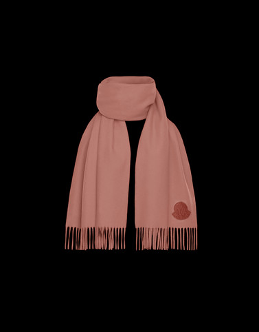 SCARF Salmon pink Scarves & gloves
