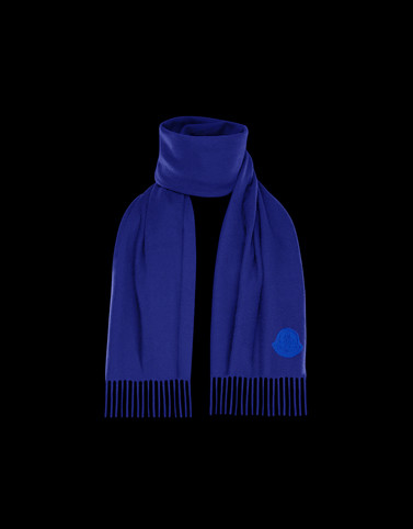 SCARF Bright blue Category Scarves Man